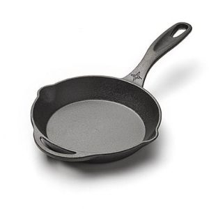 "Brand New Cast Iron 8"" Frying Pan for Camping"