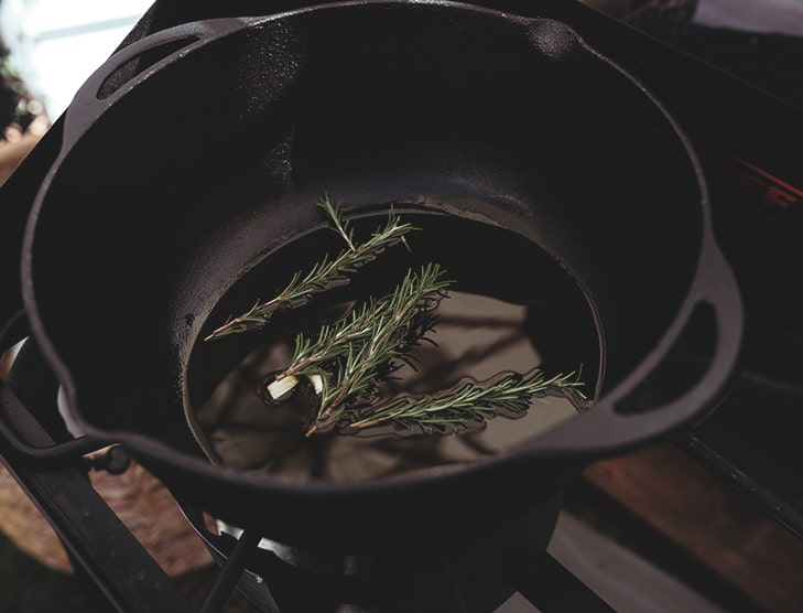 Rosemary in Crock Pot