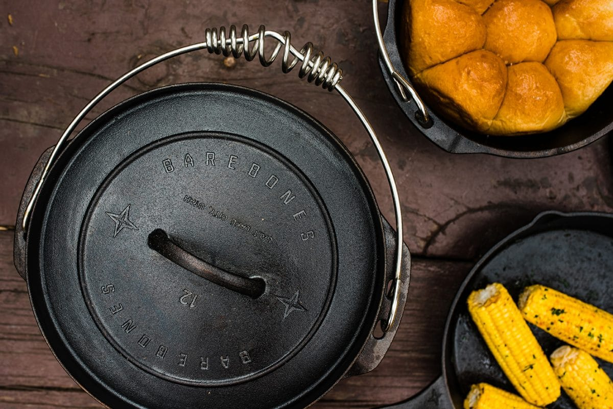 12 Inch Cast Iron Dutch Oven