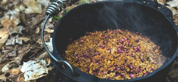 Cooking in dutch oven