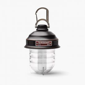 Black Hanging Lantern - Barebones Beacon Camping Light