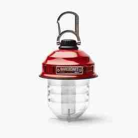 Red Hanging Lantern - Barebones Beacon Camping Light