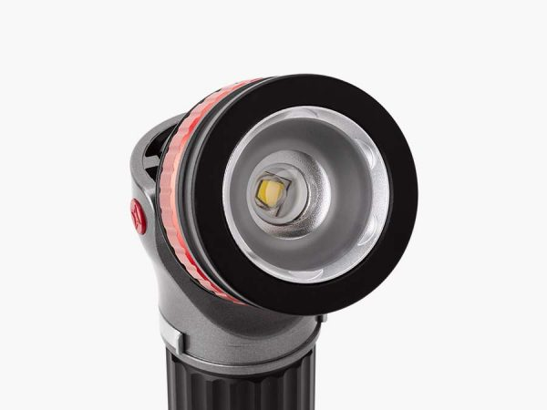LED Trailblazer Torch close up of adjustable head