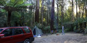 Aire Crossing Campsite