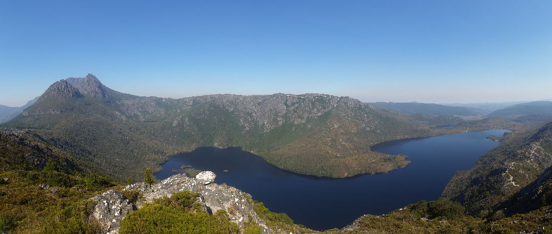 Dove Lake with Cradle Mountain NP