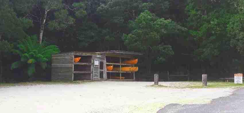 Kayak Rental at Corinna