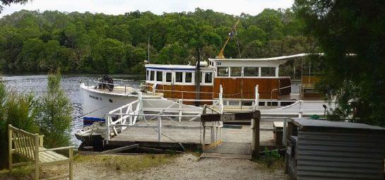 Pieman River Cruise Ship Corinna