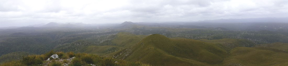 View from Mount Donaldson Summit