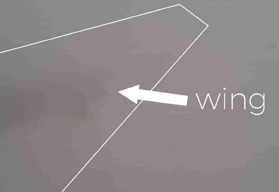 wing in Melbourne smoke haze