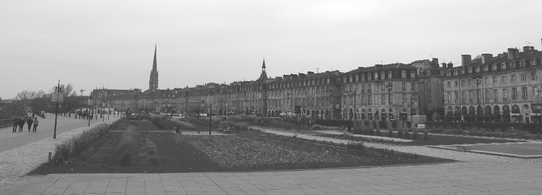 Bordeaux River Front Buildings