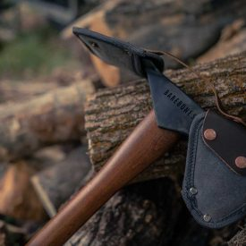 Camping Axe with Sheath on blades