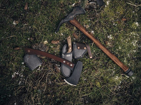 Hatchet Camping Axe on grass