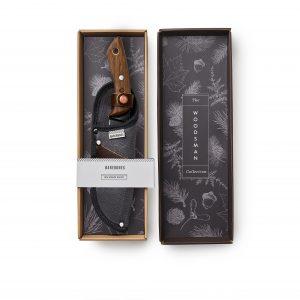 Field knife in gift box