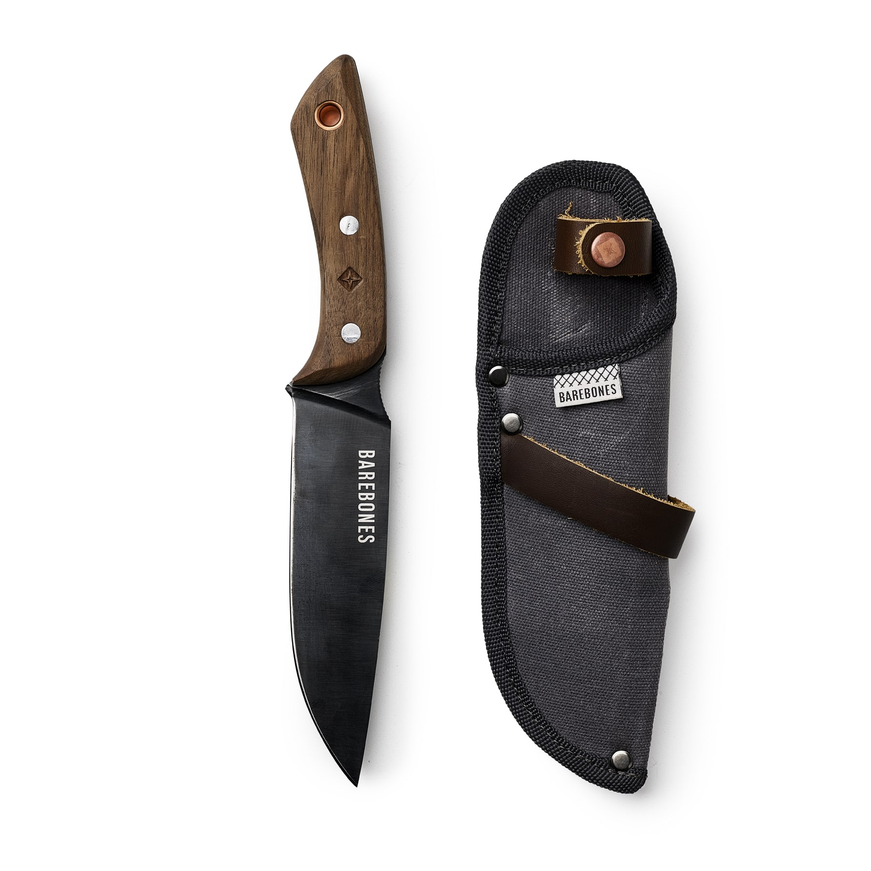 Field Knife next to sheath