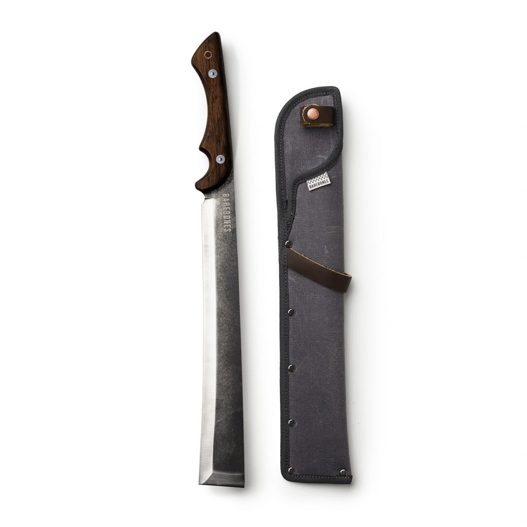 Japanese Nata Tool beside sheath