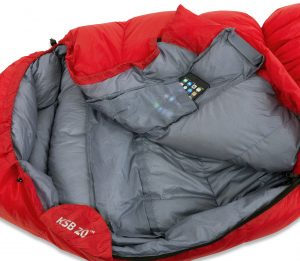 -7˚Celsius Hiking Sleeping Bag interior