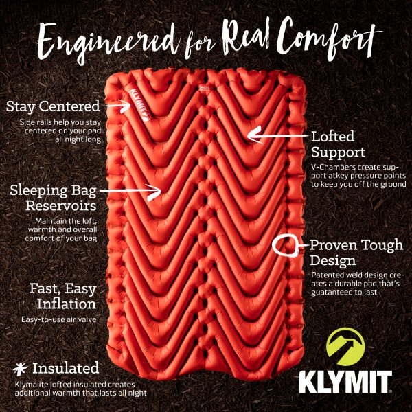 Double Sleeping Pad Information from Klymit (brand)