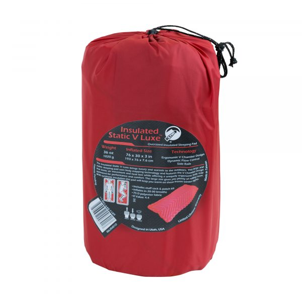 Extra Large Sleeping Pad for Camping in pack