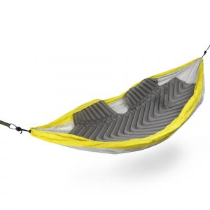 Sleeping Pad inside hammock