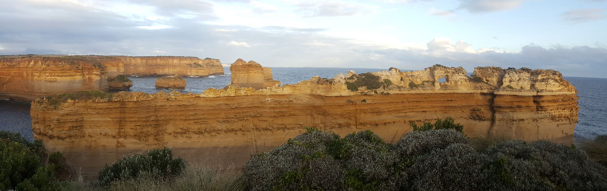 The Razorback with 12 Apostles in background