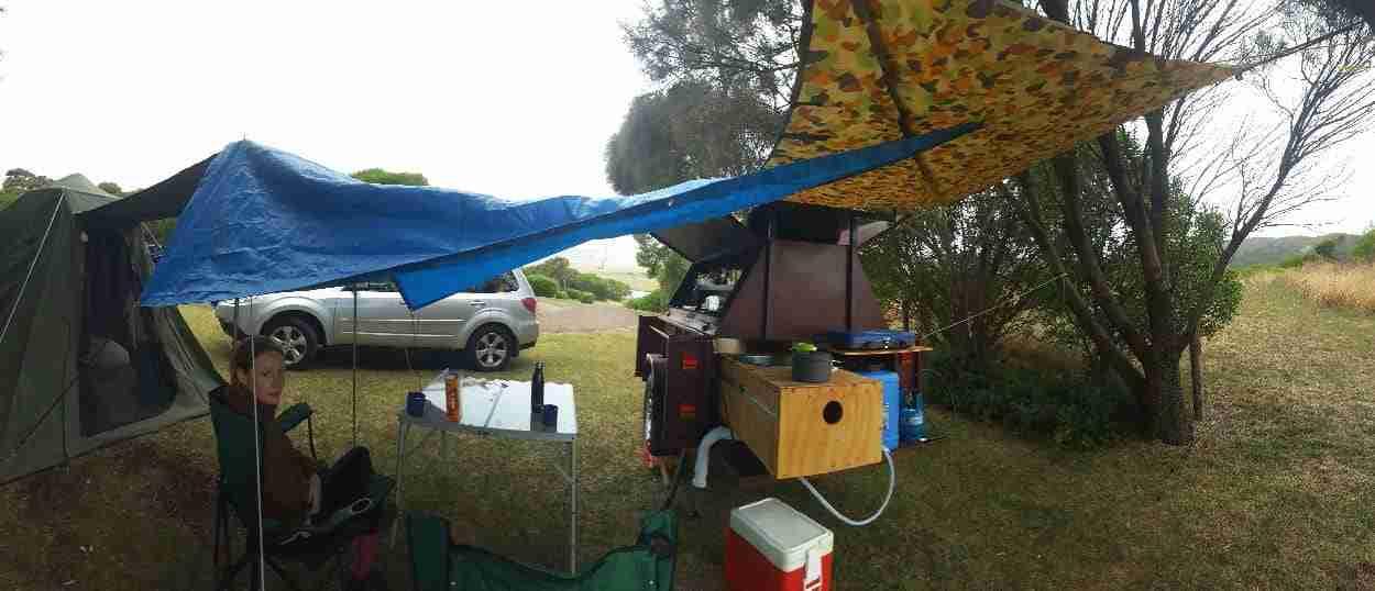 Eva Camping at Apostles Camping Park