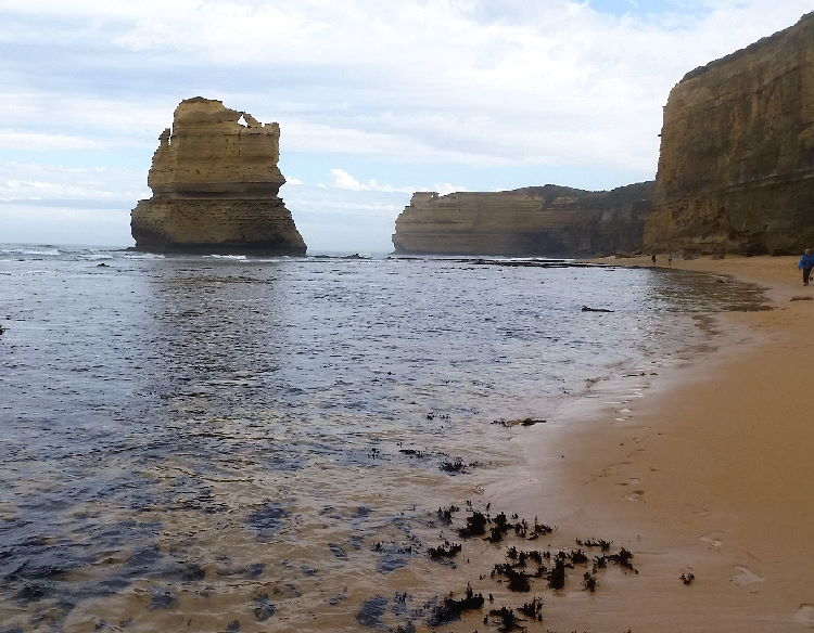 Gog at Gibson Beach in the Port Campbell National Park