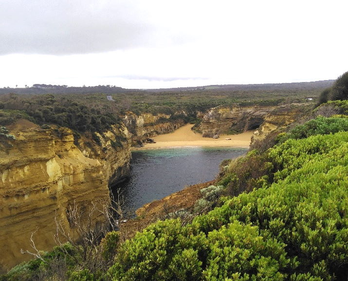 Loch Ard Gorge from Shipwreck Walk