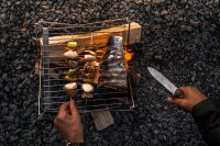 Camping Grill Overhead