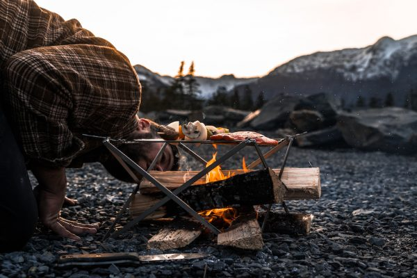 Camping Grill lifestyle