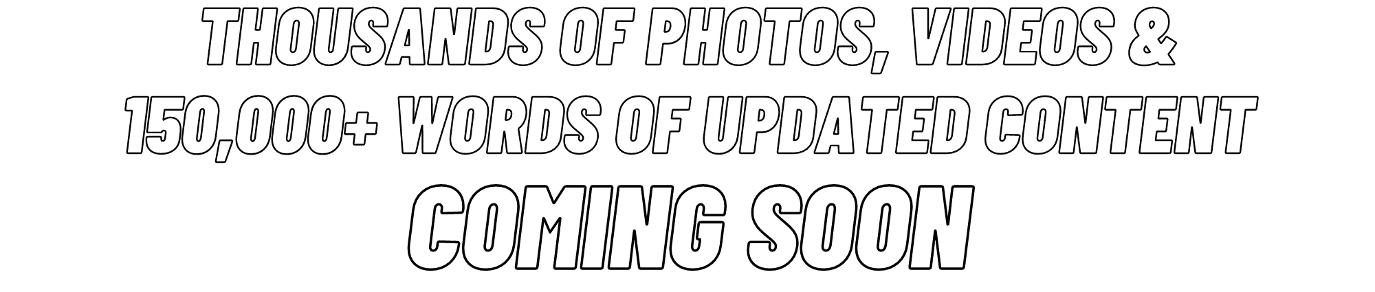 Content Coming Soon banner