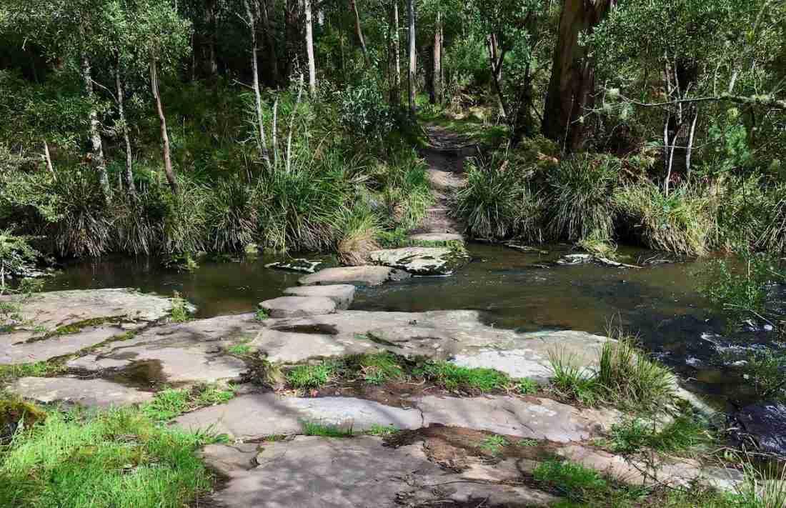 Sheoak Creek Crossing near Swallow Cave