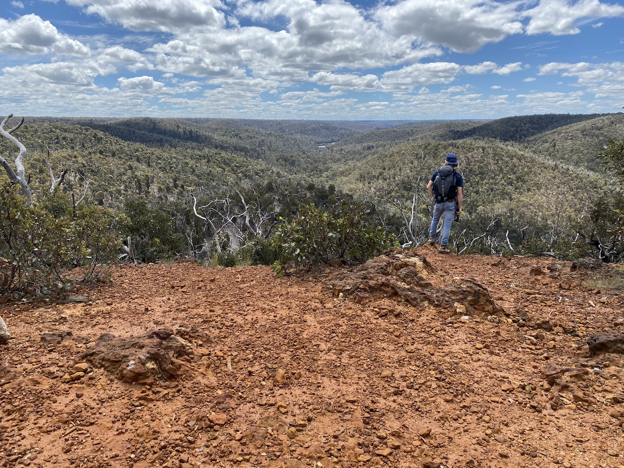 Neds Lookout at Brisbane Ranges National Park, Victoria