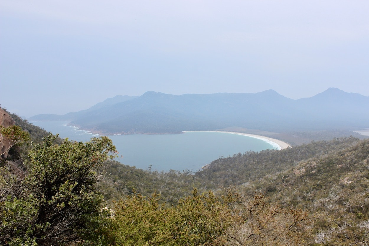 wine glass bay lookout