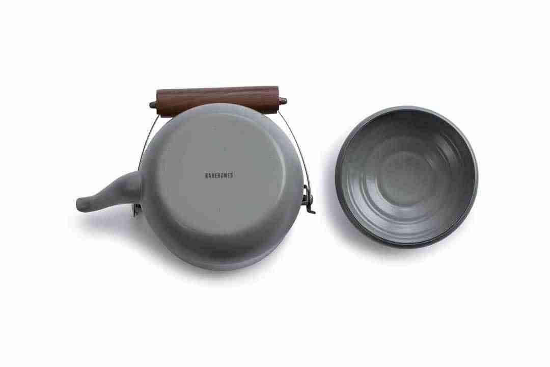 Bottom of an Enamel Teapot