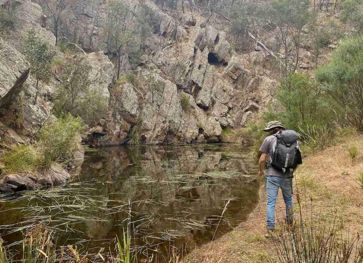 Hiking around Steglitz, Brisbane Ranges