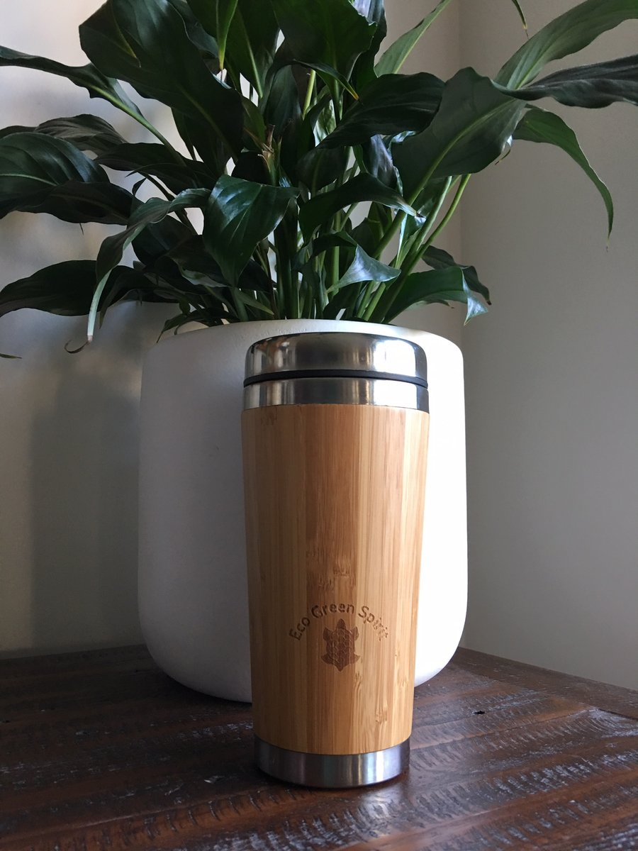 Bamboo Coffee Cup Front