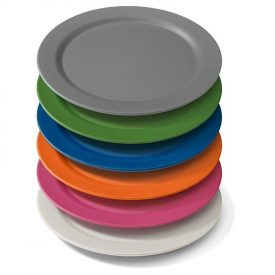 Biodegradable Camping Plate Set