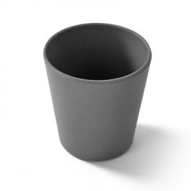 Charcoal biodegradable reusable camping cup