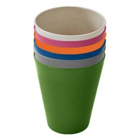 biodegradable reusable camping cup set