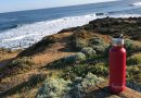 Envirocask Eco Bottle by the sea