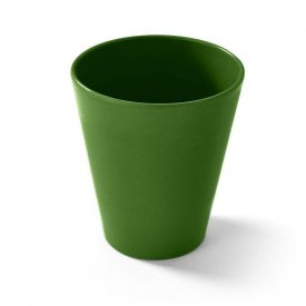 Green eco friendly reusable camping cup