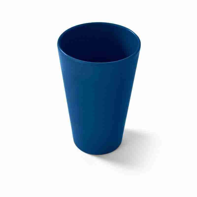 Large Navy Bio Cup