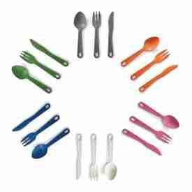 Multi colour Eco Cutlery Set