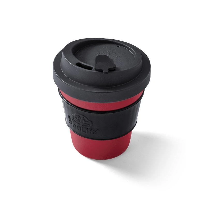 Red Small Eco Coffee Cup