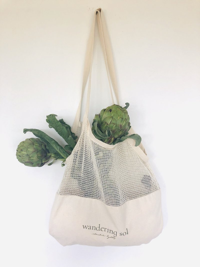 Certified Organic Produce Bags 6 Pack