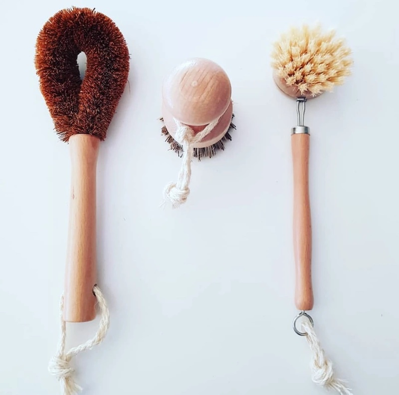 Eco Cleaning Brush Set