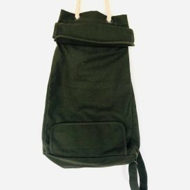 Green Recycled Canvas Bag