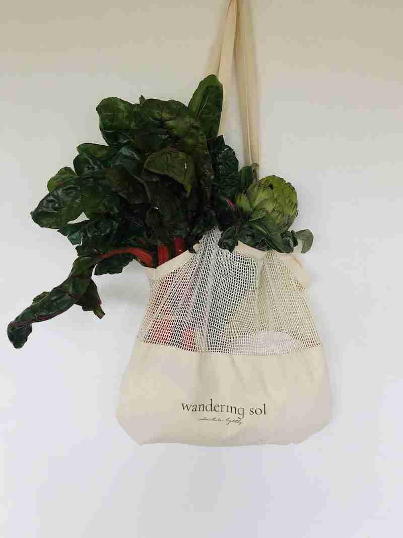 Large Certified Organic Tote Bag
