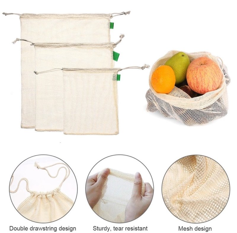 Organic Cotton Produce Bags Explained