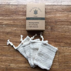 Pack of 4 Sisal Soap Pouches